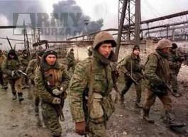 Ruská uniforma VSR 93, Čečna