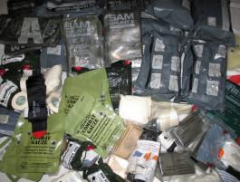 US Medic NAR CAT, Bandage, izraelák obvaz - zdravotnický materiál