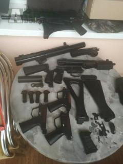 MP5 díly,G3 tělo,díly