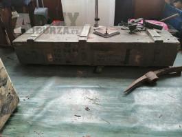 Dřevěná bedna na munici