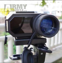 LASERWORKS LRNV009 - Infračervené vojenské noční vidění, laserový dálkoměr, 6x32 zoom  Rozměry: 175 * 100 * 51 mm Přesnost měření:  + - 1M Rozsah měře