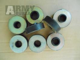 Silentbloky přídavné převodovky na Gaz 69, GAZ M 20 Poběda, Gaz M 72 Poběda.