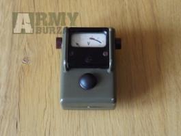 Radiostanice - kontrolní měřící přístroj