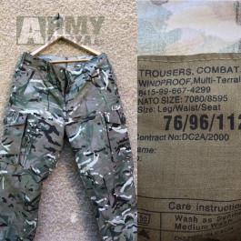 MTP windproof kalhoty