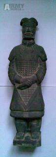 Čínský terakotový voják z Xianu