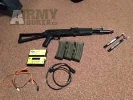 AEG AK-105 po upgrade 145m/s