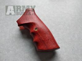 Dřevěné střenky na Ruger SP101