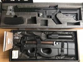 M4 (E&C) & P90 (TM + RetroArms)