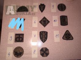 Nášivky US Army rukávové - polní
