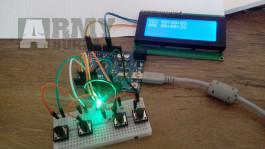 Airsoft / Paintball DOMINATOR - Tlačidlový - Arduino + LCD
