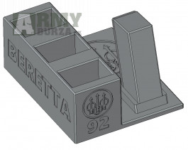 stojánek do trezoru Beretta 92