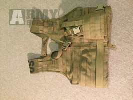 Taktická vesta - MOLLE II USMC FLC. COYOTE+ Pistolové pouzdro - LBT UNIVERSAL HOLSTER COYOTE