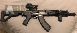 AK105 v komplet upgrade original Magpul pažba(možná výměna za sniperku)