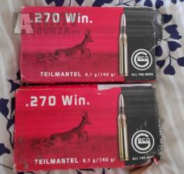 Geco .270 Win Teilmantel 9,1g, 140 grs