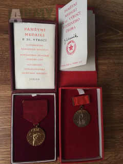 Pamětní medaile ČSLA