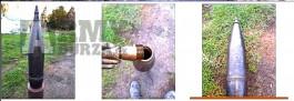 Mosazný hlavový zapalovač pro pro CS gr 150 mm