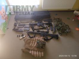 airsoft zbrane classic army a vybava