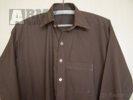 Afgánská košile - hnědá barva, originál z Pakistánu