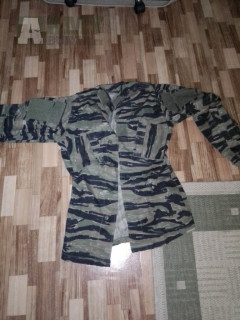 Prodám bluzu TDU - tiger-stripe
