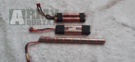 Baterie a nabíječka