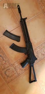 AK 74U blowback