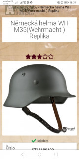 Replika německé helmy M35 wehrmacht