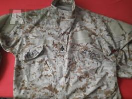 Crye Precision AOR1 navy custom field shirt XL-S