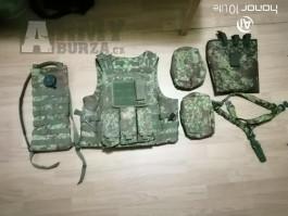 Pencott Vesta vč. 2 sumek,camel bag,odhazovák,tříbodový pás