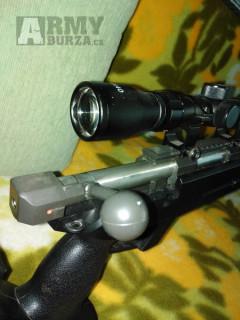 L96-04D, Black, dvojnožka, optika, Well, MB04D