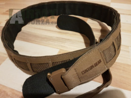 Custom Gear CGLB Lowpro Belt Coyote / Range Green XL