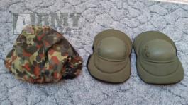loketní chrániče OLIVE potah helmy Flecktarn Bundeswehr