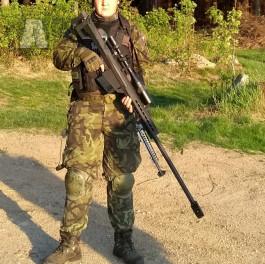 Vyměním M82-Barret za kulomet