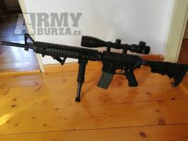 M16+celá airsoft výbava