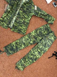 Kalhoty a blůza Invader Gear - cadpat