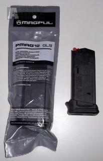 Zásobníky pro Glock 26, 12ran, 9mm Luger
