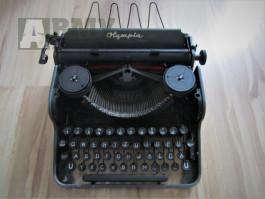 Psací stroj Olympia Waffen SS originál, viz foto.