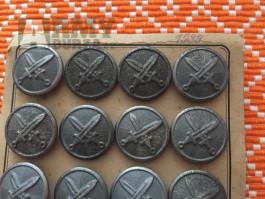 Knoflíky na sako - armáda 1.republika - originál.