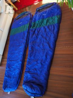 Spacáky POLAR  - dva kusy - levý a pravý zip