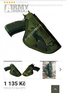 Pouzdro na pistoli od S.P.M Liberec