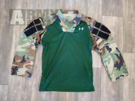 Custom combat shirt (ubacs) woodland