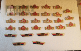Odznaky PS,  SNB, MV