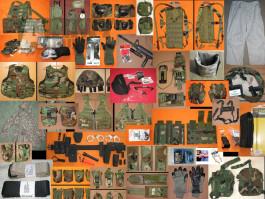 US originální výstroj 2002-2008 (MOLLE, RACK, IBA, SDS, LBT, ESS…)