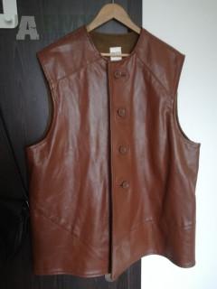 Britský Leather Jerkin