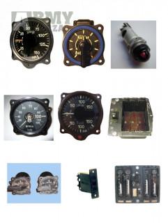 Letecké přístroje Německá Luftwaffe