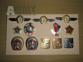 vojenské odznaky