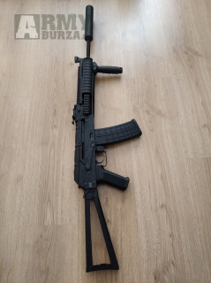 AK-74 RIS Custom 167m/s-Nové!
