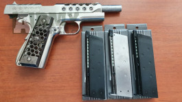 Colt 1911 HexCut