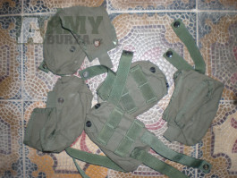 US Army sumky zelené - surival vest 5 ks U.S. pocket