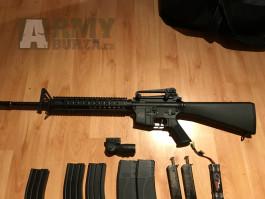 M16A3 AEG TopArms, celokov