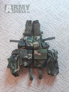 taktická vest MFH-woodland